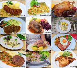 Deutsche Küche I mit Text