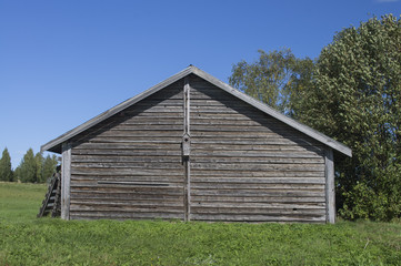 shed in the north