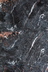 Black marble slab as an abstract background