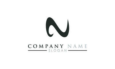 N logo letter