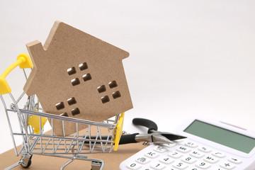住宅 ショッピングカート 電卓 工具