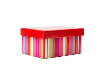 Caja de cartón de colores para regalo