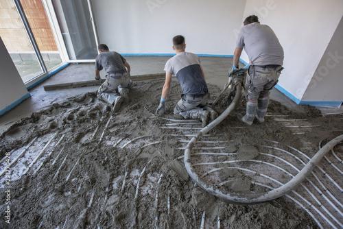 Dämmung Fußboden Estrich ~ Fußbodensanierung alter estrich raus neuer aufbau mit dämmung