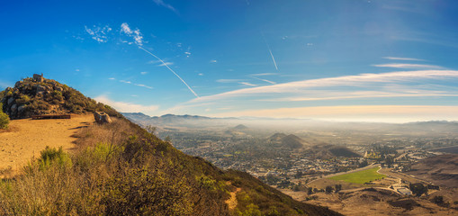 Wall Mural - San Luis Obispo viewed from the Cerro Peak