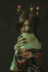 Seductive geisha