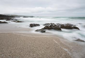 Waves around Rocks, Towan Head, Newquay, Cornwall