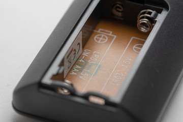remote Control - battery compartment