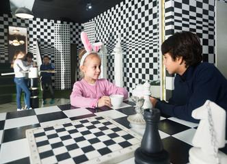 Children in quest room