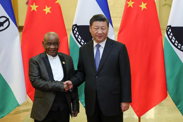 Prime Minister of Lesotho visits China