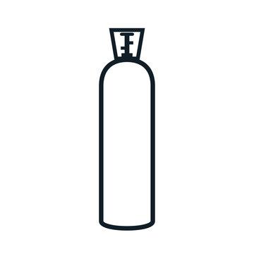 CO2 gas tank icon