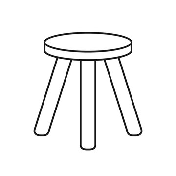 Three legged stool.