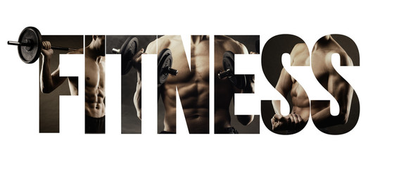 Fitness, healthy lifestyle and sport concept Wall mural