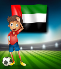 United Arab Emirates soccer player