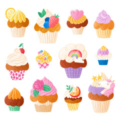 Cupcakes super collection