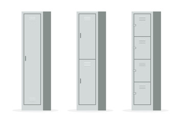 Metal Lockers set