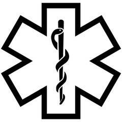 Logo Ambulance et infirmier