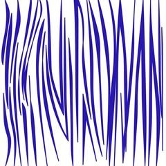 blue tiger lines on white jpg