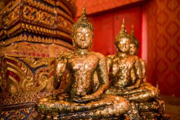 Ancient buddha statue in Thailand.