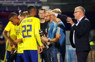 International Friendly  -  Austria v Sweden
