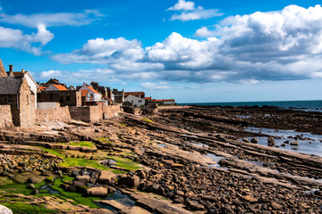 Picturesque view of Anstruther village, Fife.