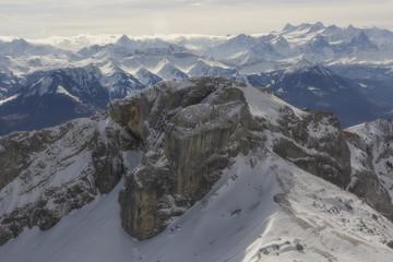 View of mount Pilatus, Switzerland.