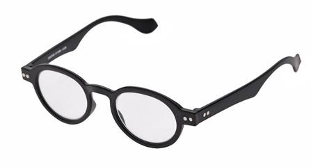 Product photography, packshot, black Reading glasses