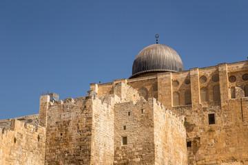 Al-Aqsa Mosque, Old City, Jerusalem, Israel, Middle East