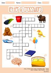 The Letter B Crossword