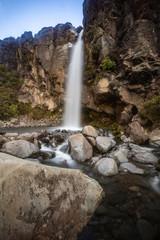 Taranaki Falls in Tongariro National Park New Zealand 3