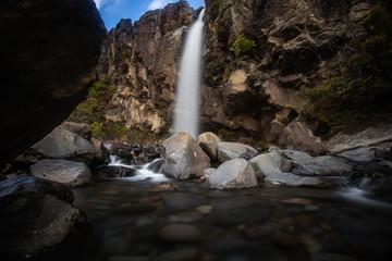 Taranaki Falls in Tongariro National Park New Zealand 2
