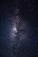 milky way and star dust