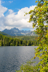 Lake in Tatra Mountains