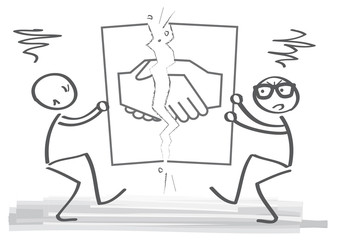 Entlassung - Partnerschaft aufkündigen