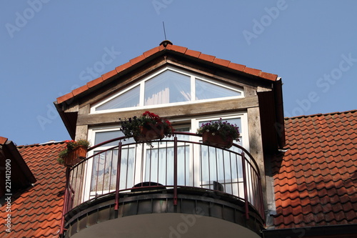 Dachgaube Mit Balkon Stock Photo And Royalty Free Images On Fotolia