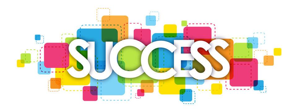 SUCCESS letters banner