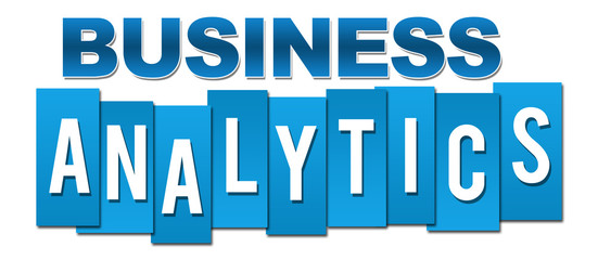 Business Analytics Blue Professional