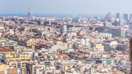 Barcelona City form up air