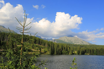 Lake in Tatras