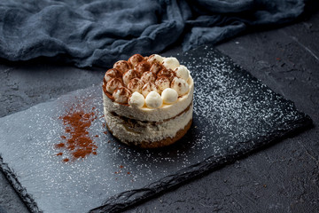 classic tiramisu dessert