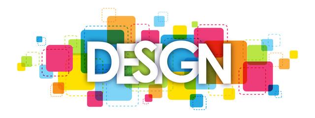 DESIGN letters banner