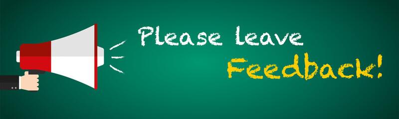 Please leave Feedback!