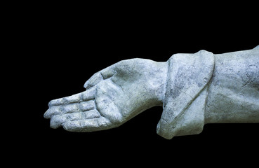 The Hand of Assistance and Poverty