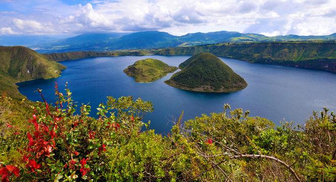 Laguna de Cuicocha , Ecuador