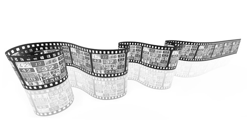 film strip media concept image