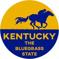 kentucky: the bluegrass state | digital badge
