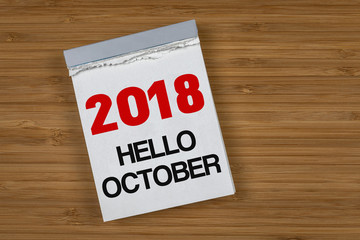 2018 Hello October