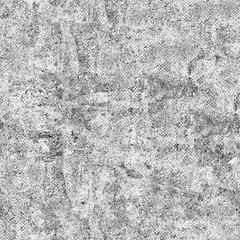 The texture is black and white in grunge style. Abstract monochrome background. Seamless pattern of cracks, chips, scratches, stains, scuffs. Vintage old surface