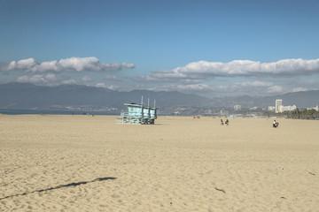 Sandy Venice Beach in California, USA