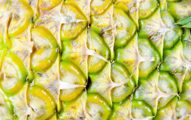 Pineapple fruit a delicious sweet and sour To a salad or made into juice and cooking is popular among the common people, and benefits the body