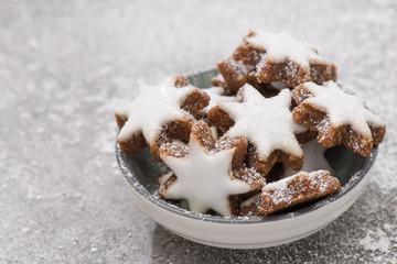 Weihnachtsgebäck Zimtsterne.Search Photos Zuckerguß